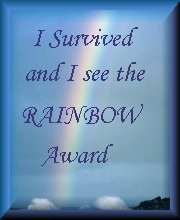 I survived and I see the rainbow award